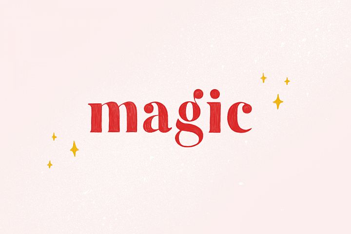 Magic - Colour SVG Font Extras
