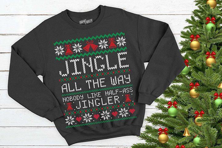 Jingle All the way Christmas Printable