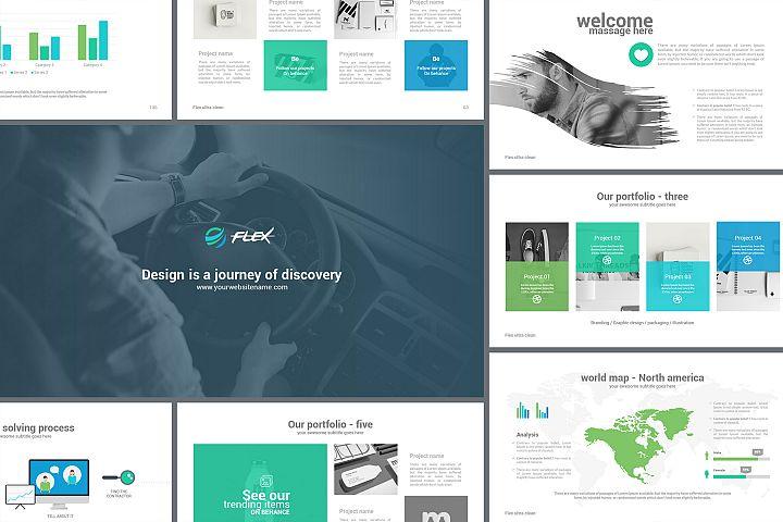 Flex Keynote Presentation Template