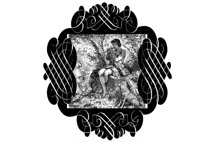 Black Ornaments (FAMILY PACK) example image 2
