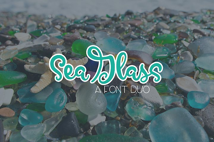 SeaGlass - A Font Duo