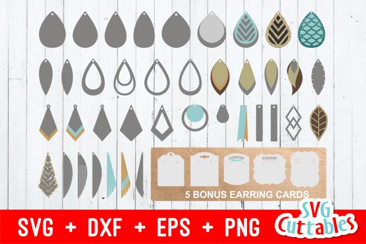 Earring Bundle | SVG Cut Files