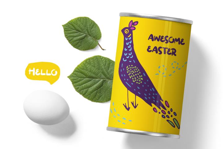 Easter SVG Cut Files - Scandinavian Easter Illustrations example 5