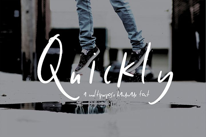Quickly | Hand Drawn Style