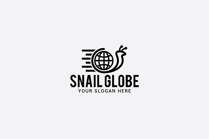 snail globe logo