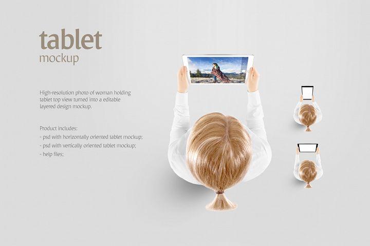 Tablet Mockup - Free Design of The Week Design 1