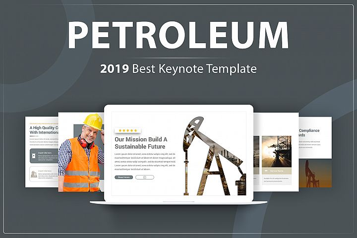 Modern Petroleum Keynote Template