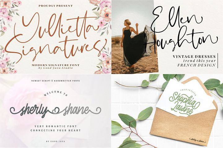 The Mega Valentine's Font Collections example image 7