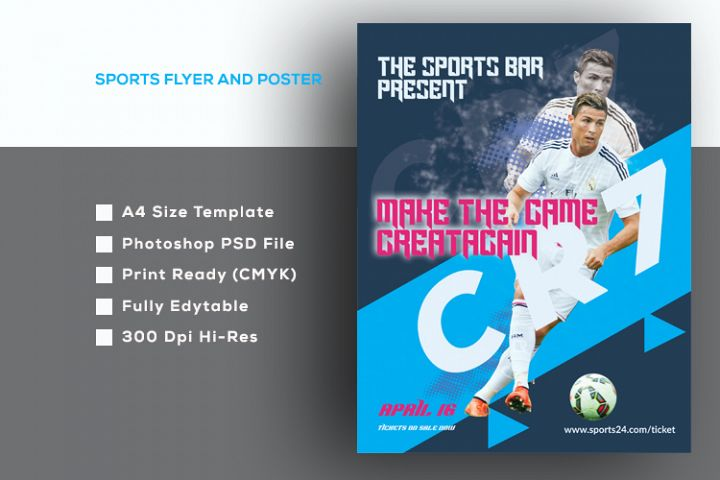 Sports Poster And Flyer