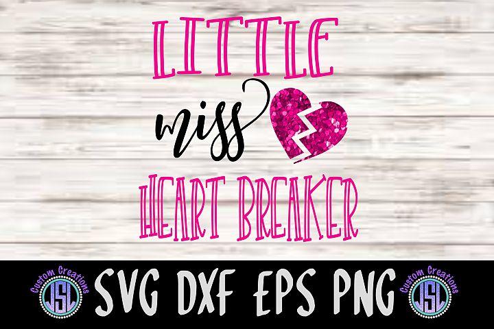 Little Miss Heart Breaker | SVG DXF EPS PNG