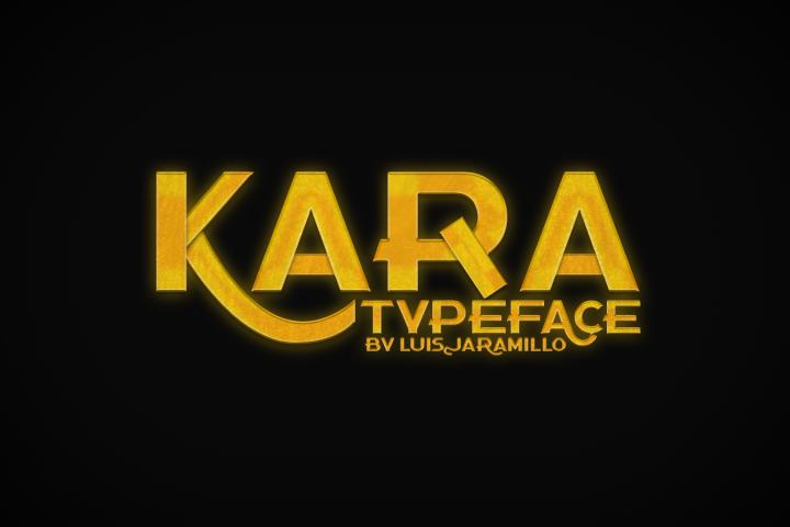 Kara Typeface