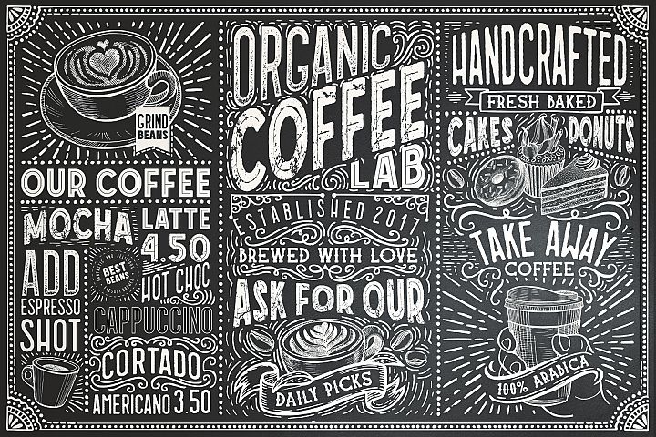 15 Fonts Coffee Lab Collection
