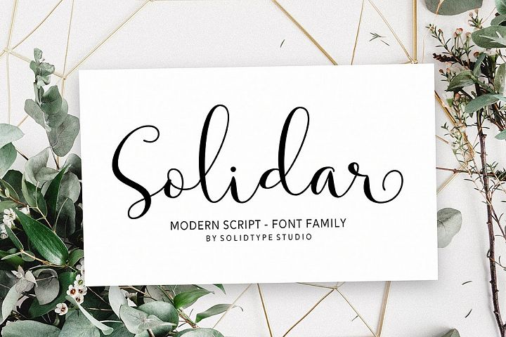 Solidar Font Family