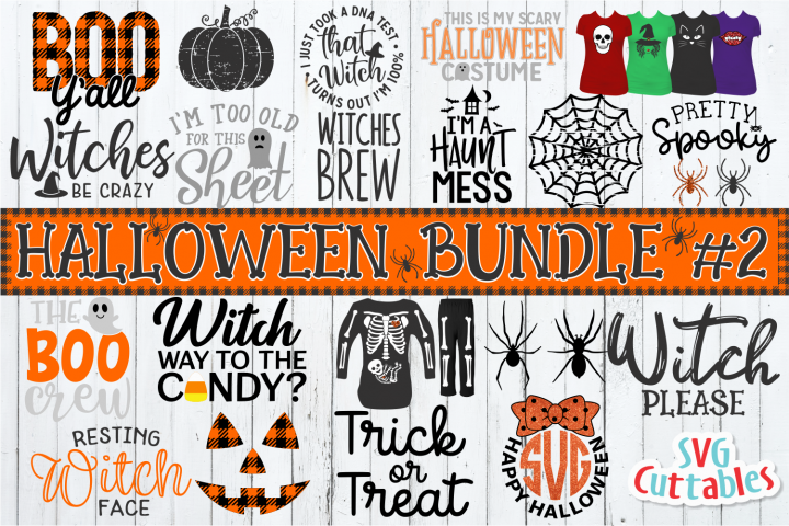 Halloween Bundle 2 | SVG Cut Files