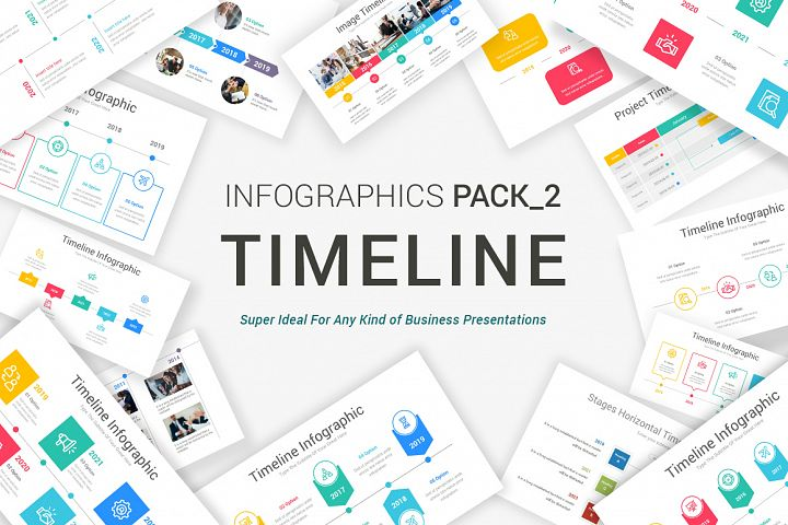 Timeline Pack_2 PowerPoint Template