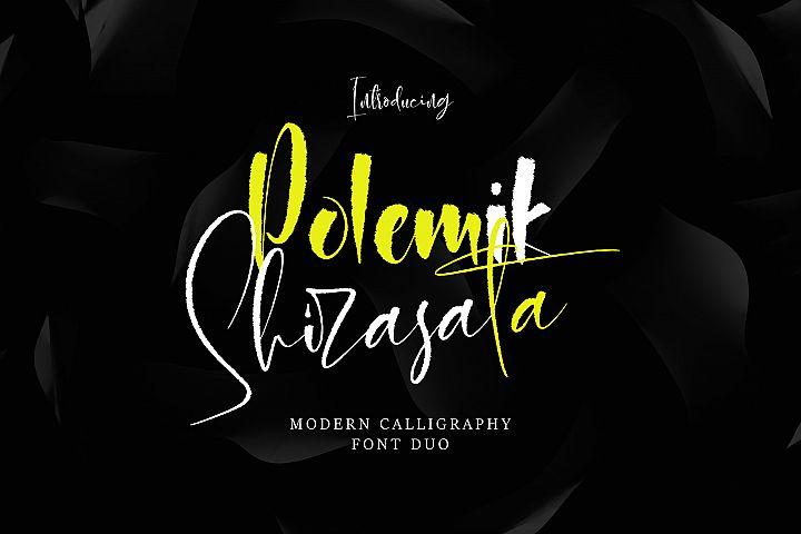 Polemit Shirasata Font Duo