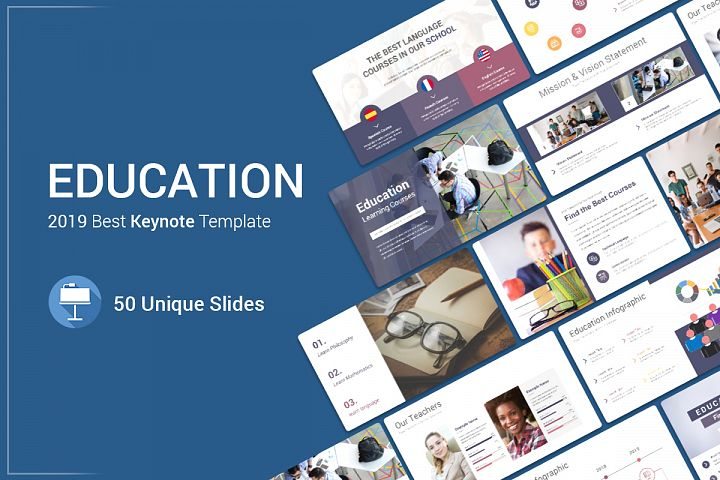 Education Keynote Template