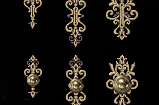 Set of buttonholes Machine Embroidery Designs