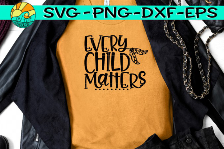 Every Child Matters - Orange Day - Feathers- SVG PNG EPS DXF