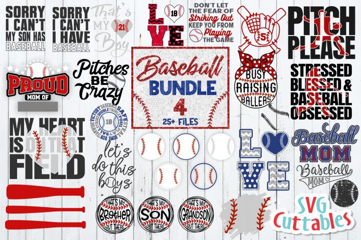 Baseball Bundle 4| SVG Cut File