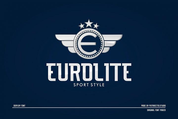 EUROLITE Sport Font Plus BONUS