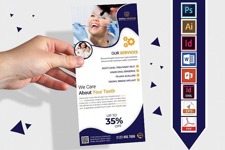 Rack Card | Dental DL Flyer Vol-01