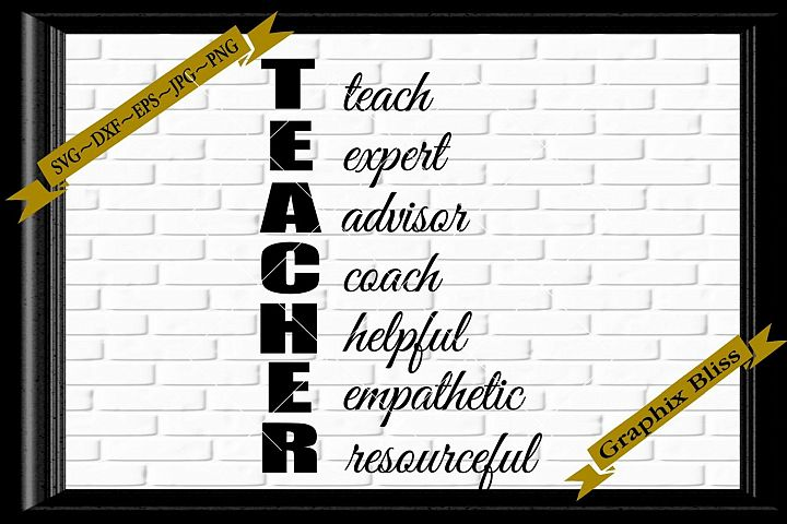 Teacher teach expert advisor coach helpful empathetic svg