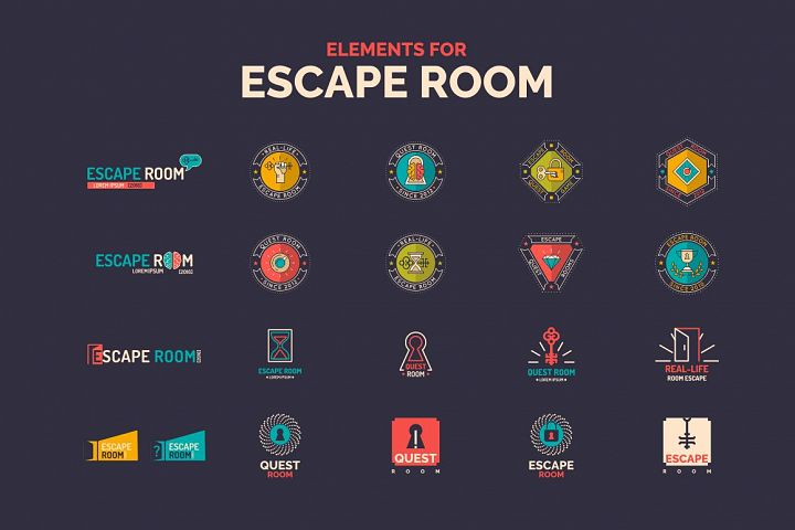Elemens for Escape room