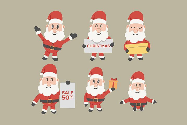 Santa Claus Design Pack
