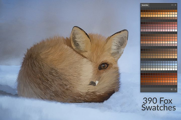 Fox Swatches