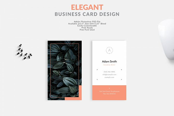 Elegant and modern Business Card Design