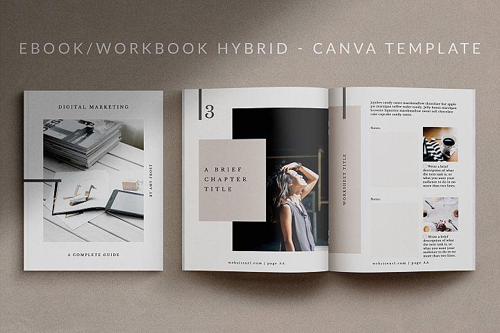 eBook-Workbook Template for Canva | Mio