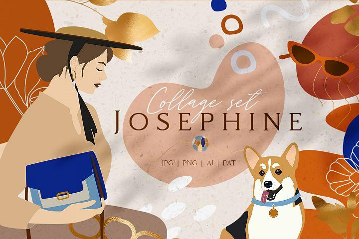 Josephine Collage Set