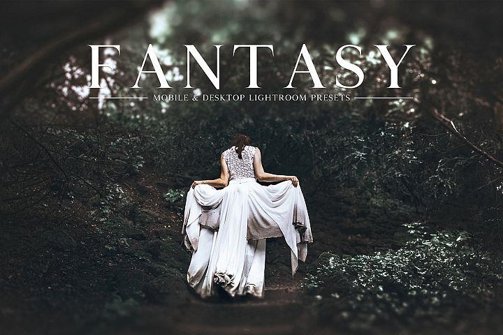 Fantasy Mobile & Desktop Lightroom Presets Collection