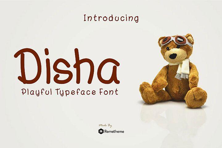 Disha - Playful Font