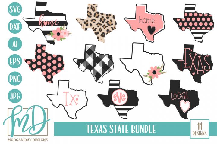 Texas Home - Texas State - Texas Bundle SVG