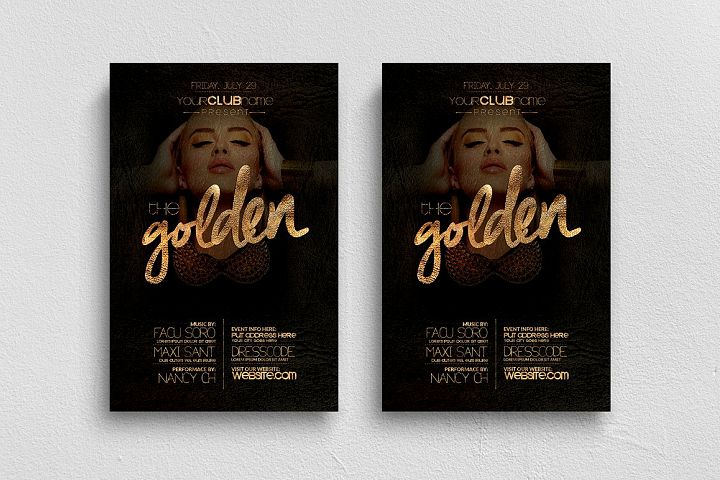 The Golden Flyer Template
