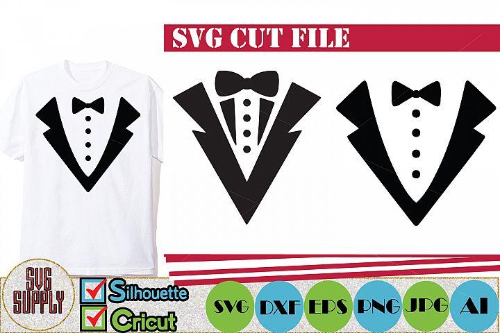Tuxedo Fashion SVG Cut File