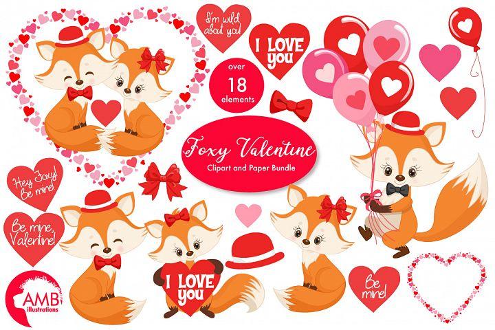Valentine cliparts, graphics, illustrations AMB-1582