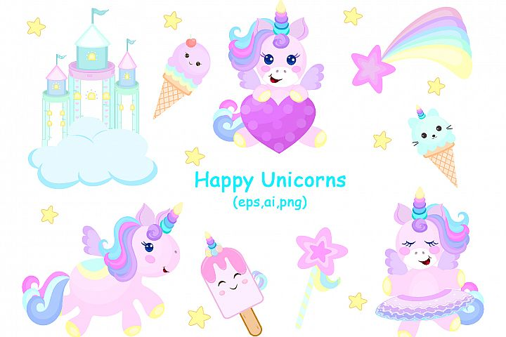 Happy Unicorns
