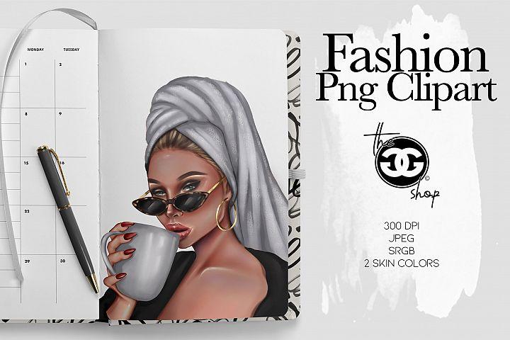 Fashion Png Planner Illustration