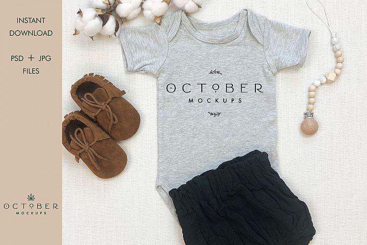 Baby bodysuit mockup   Shirt mockup   Sublimate blanks