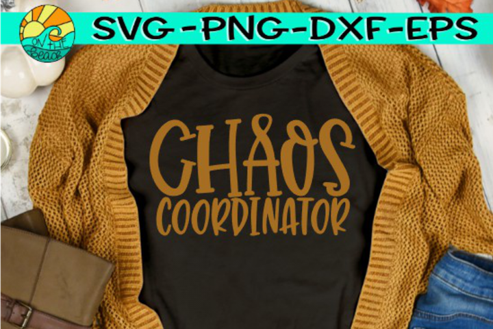 Chaos Coordinator - SVG PNG EPS DXF