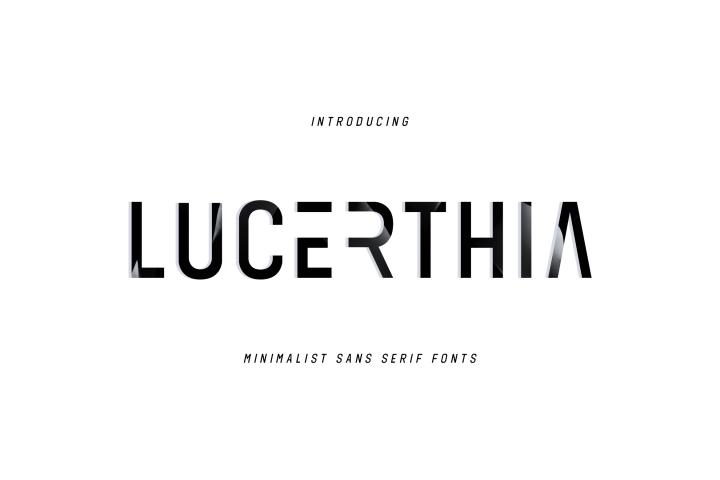 LUCRETHIA - Minimal Sans Serif Font
