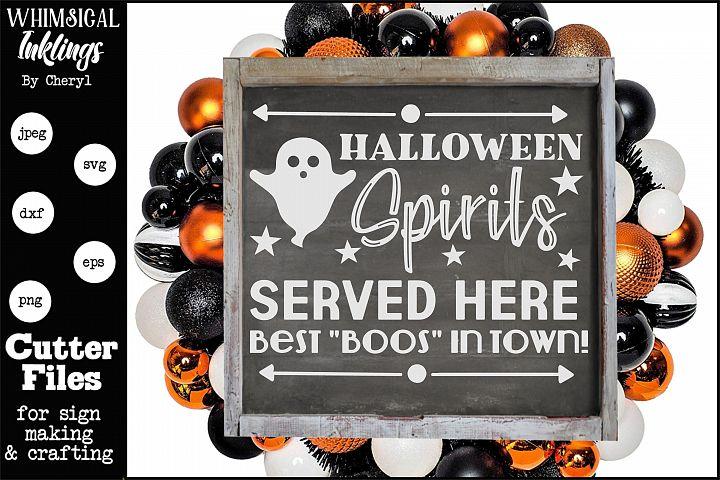 Halloween Spirits SVG