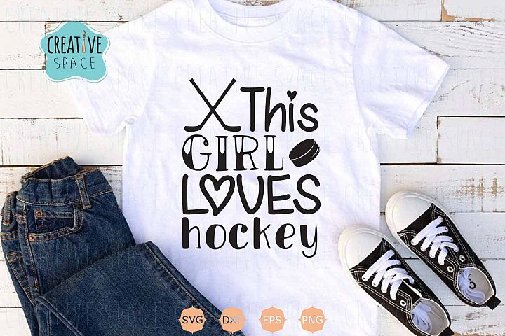 Hockey Girl Svg, Hockey Svg