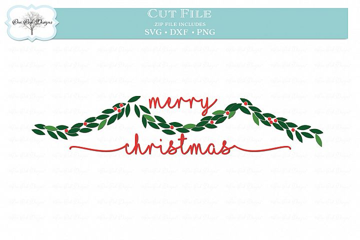 Christmas Garland - SVG DXF PNG