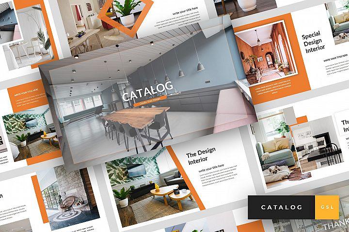 Catalog - Furniture Google Slides Template