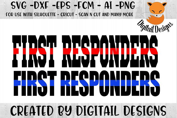 First Responders SVG
