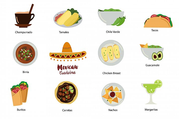 Mexican Food Clipart - Free Design of The Week Design1